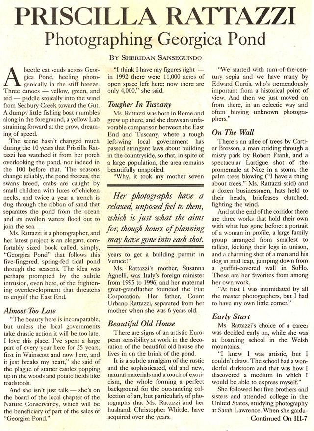 East Hampton Star, July 27, 2000 1