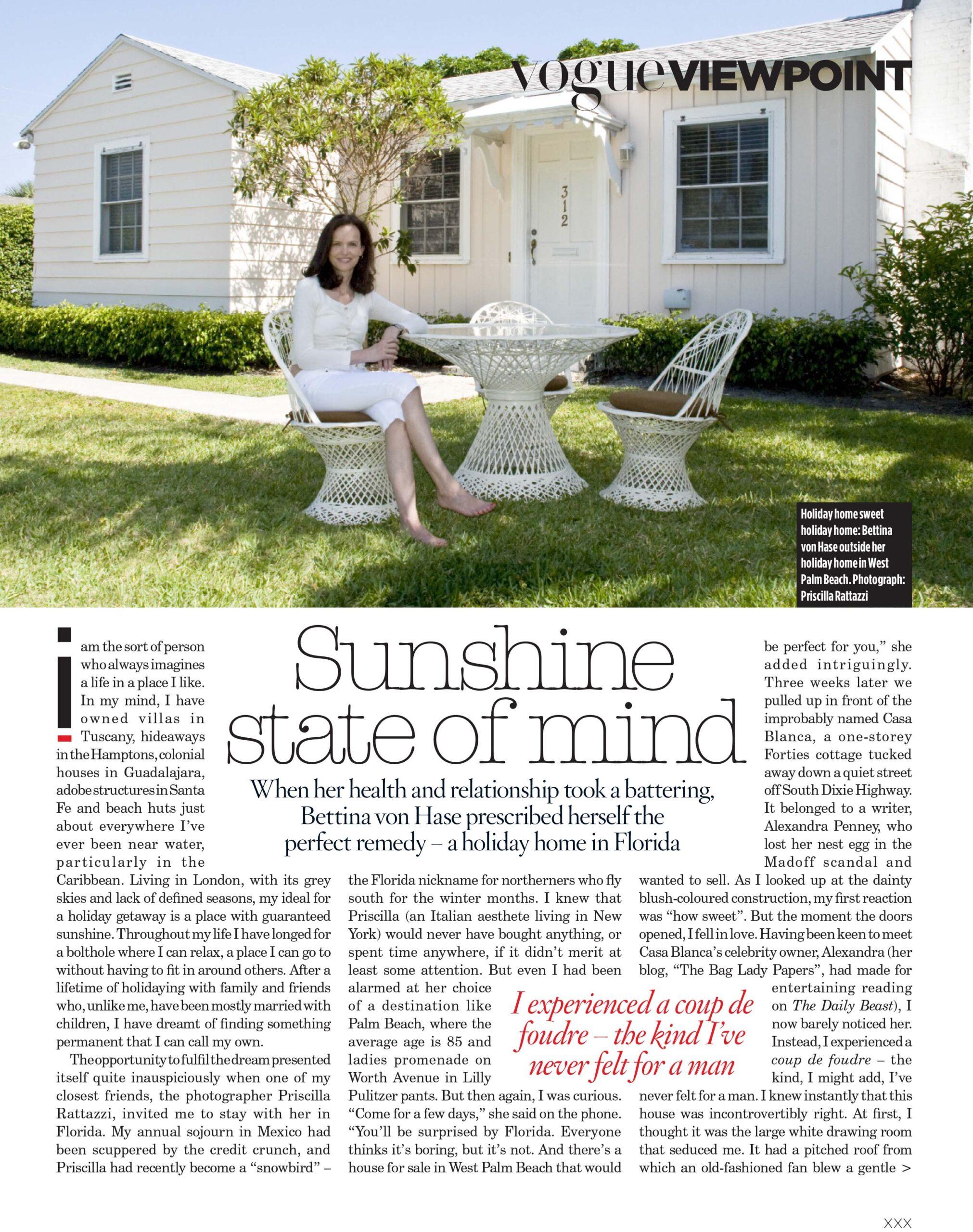 Florida British Vogue Bettina September 2010 1