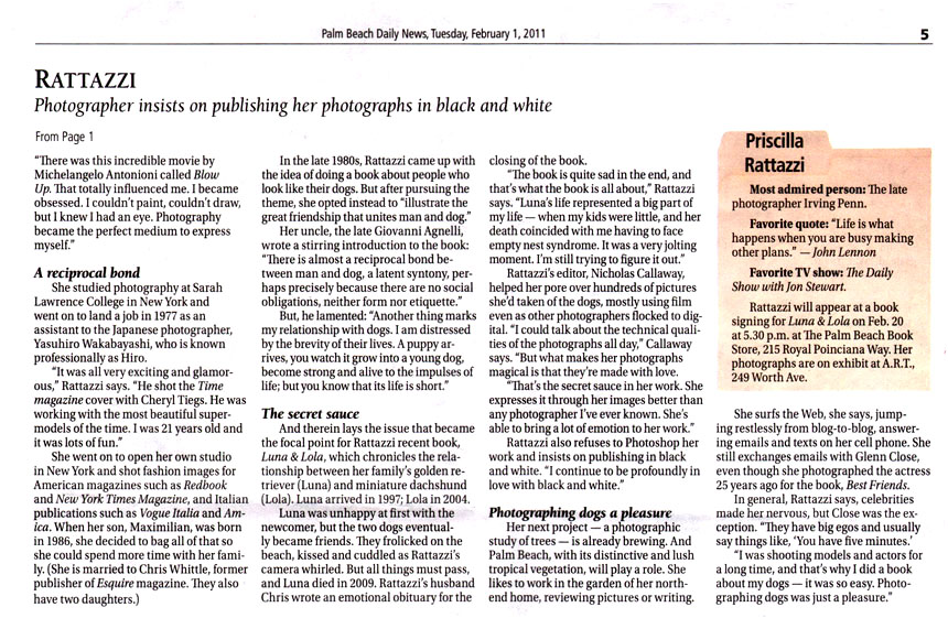 Palm Beach Daily News 2 February 2011