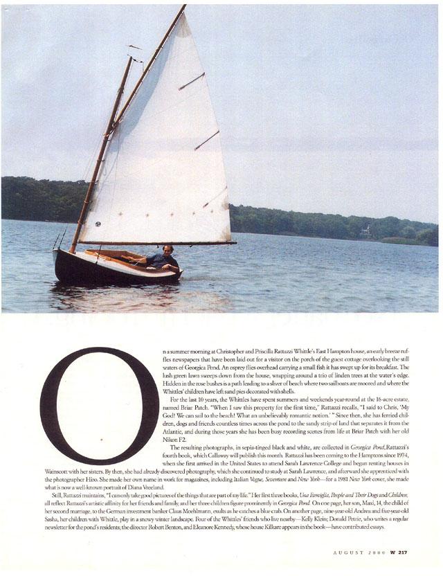 W Magazine, August, 2000 4