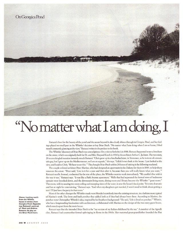 W Magazine, August, 2000 5