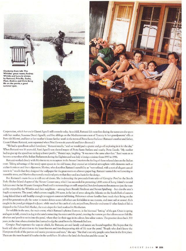 W Magazine, August, 2000 8